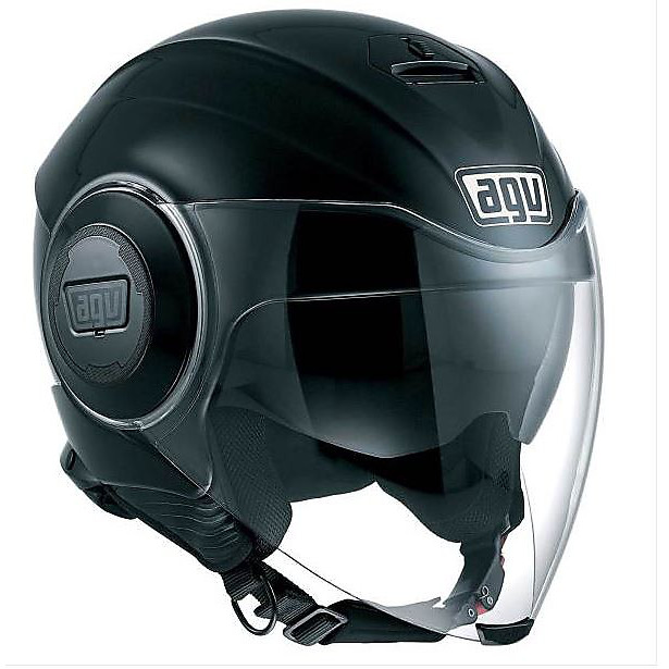 Fluid black Helmet Agv