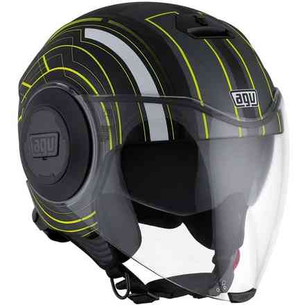 Fluid Chicago helmet Agv