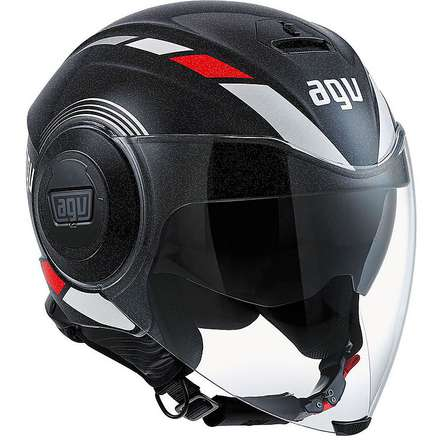Fluid  Equalizer Helmet black-grey Agv