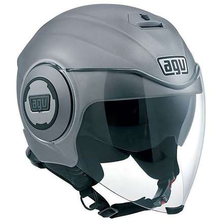 Fluid Pix matt grey Helmet Agv