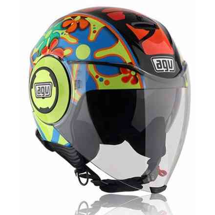 Fluid Top Valencia 2003 Helm Agv