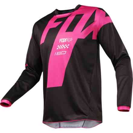Fox Cross 180 Mastar Jersey Black Jersey Fox