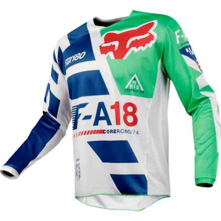 Fox Cross 180 Sayak Jersey Green Jersey Fox