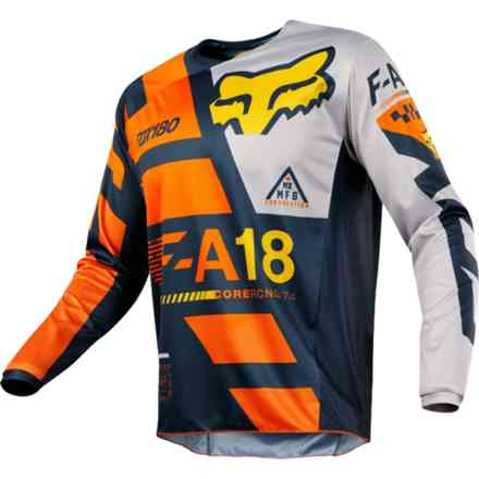 Fox Cross 180 Sayak Jersey Orange Jersey Fox