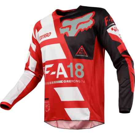 Fox Cross 180 Sayak Jersey Red Jersey Fox