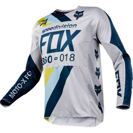Fox Cross 360 Draft Jersey Jersey Light gray Fox