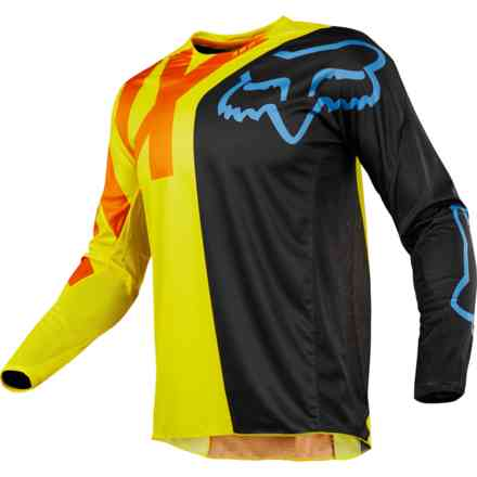 Fox Cross 360 Jersey Jersey Blue-Yellow Jersey Fox