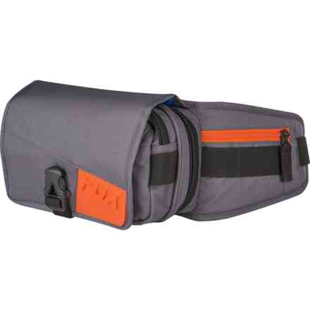 Fox Fox Deluxe Tool Bag Gray - Orange Fox