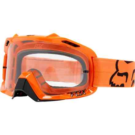 Fox Racing Air Defense Orange Goggles Fox