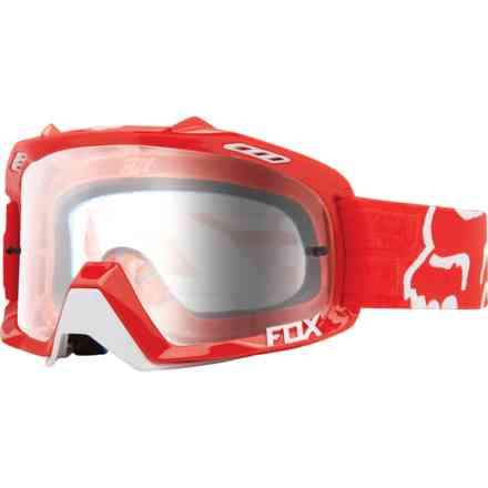 Fox Racing Air Defense Red Glasses Fox