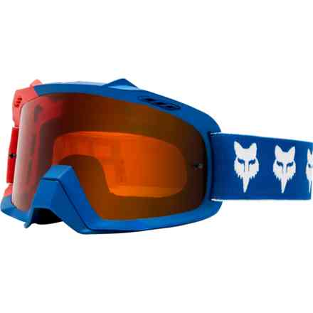 Fox Racing Air Goggles Luftraum blauer Entwurf Fox