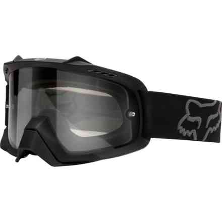 Fox Racing Air Space Enduro Schwarz-Chrom Gläser Fox