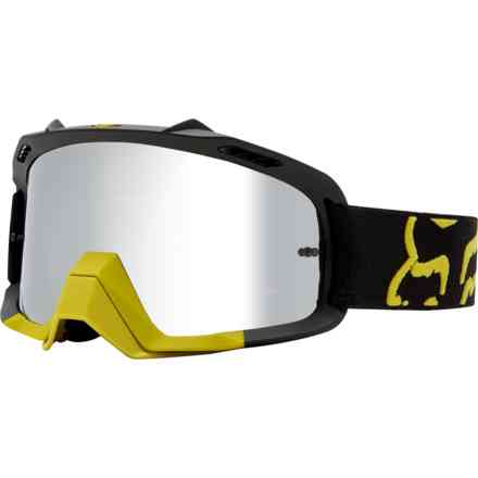 Fox Racing Air Space Goggles Yellow Yellow Fox