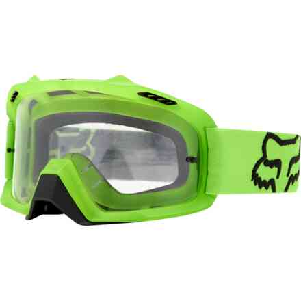 Fox Racing Air Space Green Goggles Fox