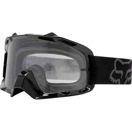 Fox Racing Air Space Schwarze Sonnenbrille Fox