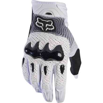 Fox Racing Bomber Glv Black Gloves - White Fox