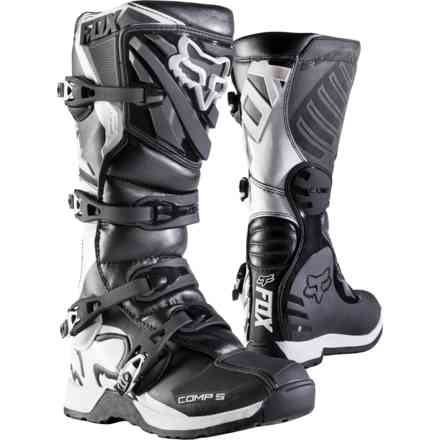 Fox Racing Comp 5 Stiefelstiefel Schwarz Fox