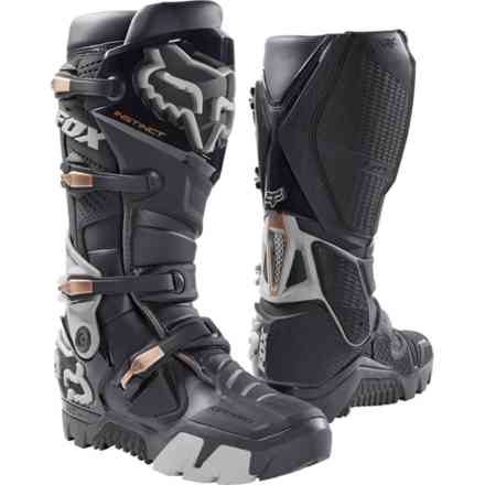 Fox Racing Instinct Stiefel Off Road Charcoal Fox