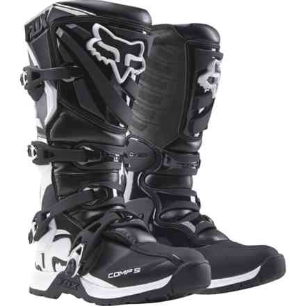 Fox Racing Wmn Comp 5 Black-White Boots Fox