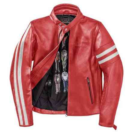 Freccia72 jacket red white Dainese