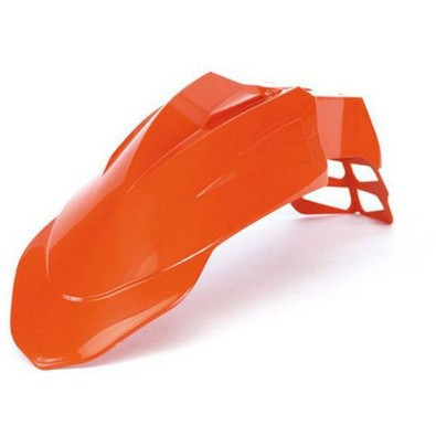 Front fenderSupermoto orange Acerbis