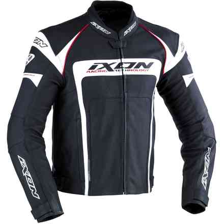 Fueller 2.0 Leather black white  Jacket Ixon