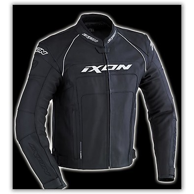 Fueller Black   Leather Jacket Ixon
