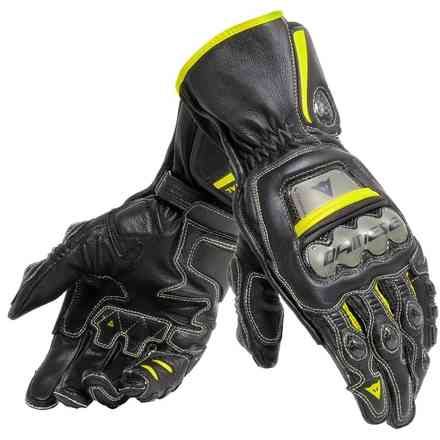 Full Metal 6 gloves black yellow fluo Dainese