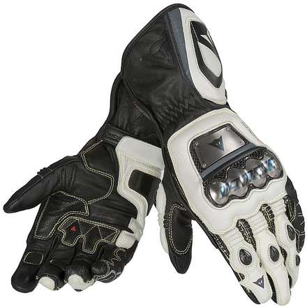 Full Metal D1 Gloves black-white-anthracite Dainese