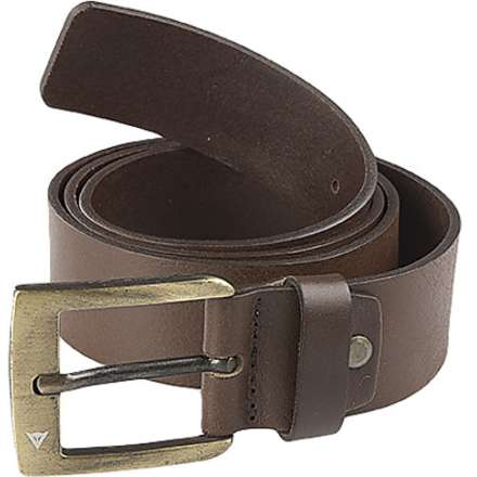 Gürtel Leather Belt Braun Dainese