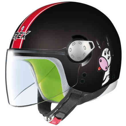 G1.1 Teens black Helmet Grex