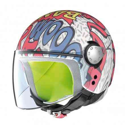 G1.1 Visor Fancy Child Helmet Grex