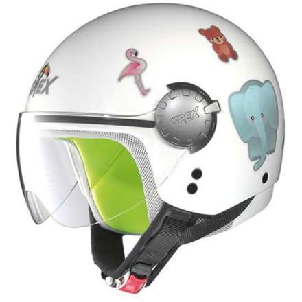 G1.1 Visor teeny white Child Helmet Grex