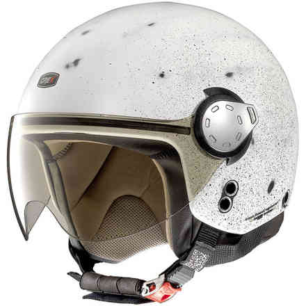 G3.1 Scraping Scraped white Helmet Grex