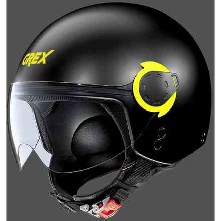 G3.1E Couplé flat black yellow Grex