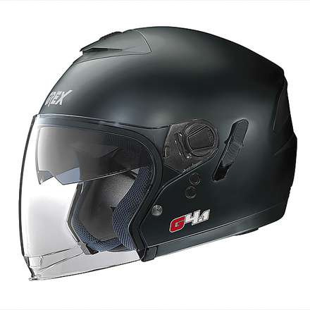 G4.1  Kinetic Flat Black Helmet Grex