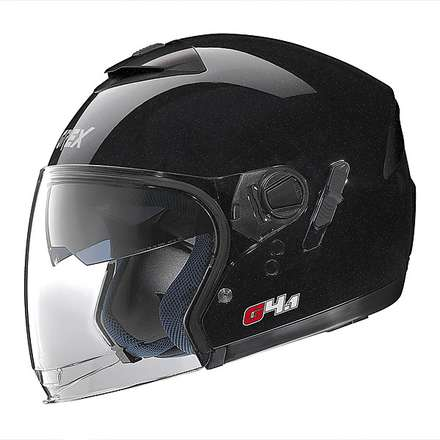 G4.1  Kinetic Metal Black Helmet Grex