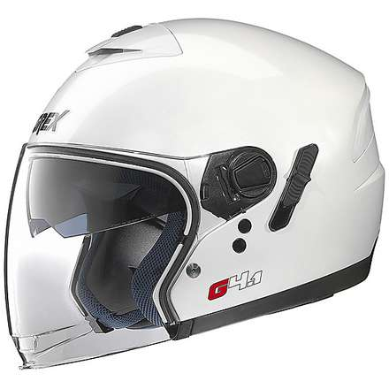 G4.1  Kinetic White Helmet Grex
