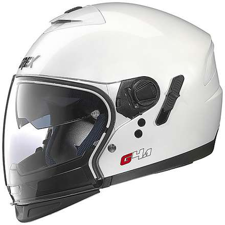 G4.1 Pro Kinetic White Helmet Grex