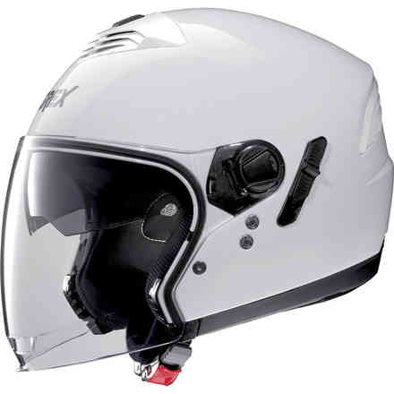 G4.1e Kinetic Metal White Helmet Grex