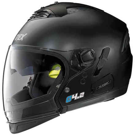G4.2 Pro Kinetic flat black Helmet Grex