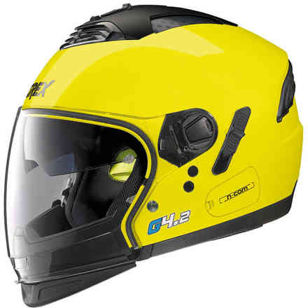 G4.2 Pro Kinetic yellow Helmet Grex