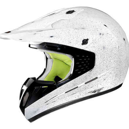 G5.1 Scraping Scraped white Helmet Grex