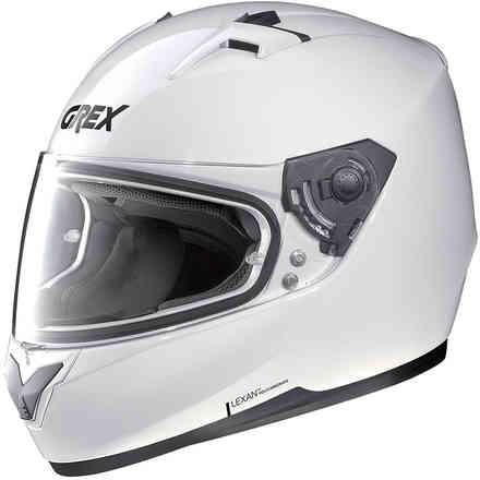G6.2kinetic helmet metal white Grex