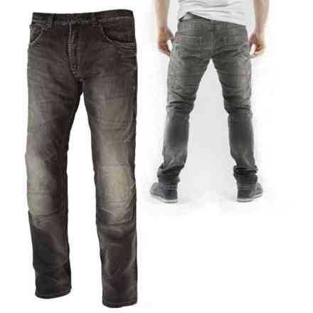 Gallante grey Jeans-Hose Motto