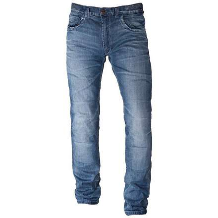 Gallante pantalon jeans bleu Motto