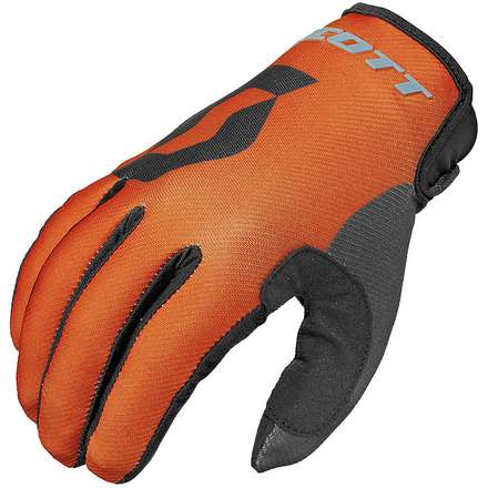 Gants 350 Track Kids  orange-noir Scott