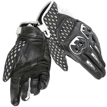 Gants Air Hero blanc-noir Dainese