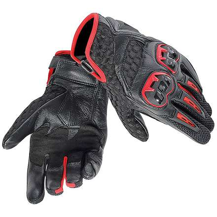 Gants Air Hero rouge-noir Dainese