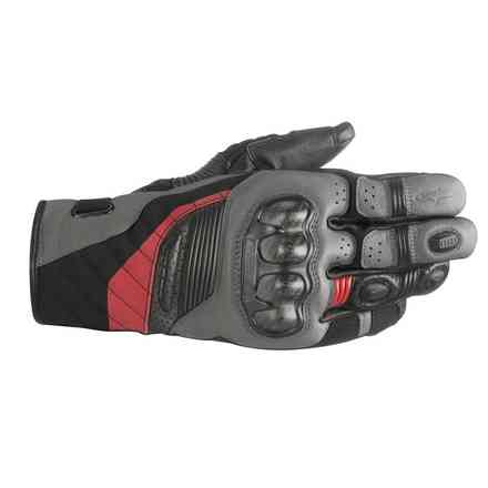 Gants Belize Drystar noir antracite rouge Alpinestars